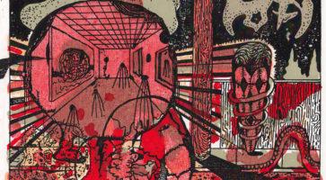 I grænselandet mellem billedkunst og tegneserie