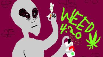Webgodter: Stoner Alien