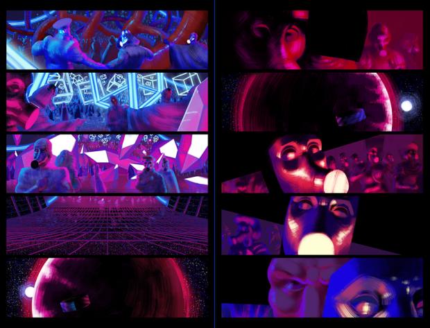 """Fra Grafisk Fortælling-studerende Emil Friis Ernsts """"Masque of the Red Death"""""""