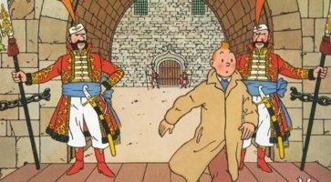Ingen over og ingen ved siden af: Hergé nummer 1