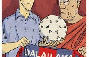 Dalai Lama skriver forord til ny dansk grafisk roman