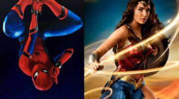 Double Feature Podcast Show: Vi elsker Spider-Man & Wonder Woman
