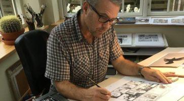 På tegnebordet: Peter Madsen
