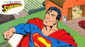 Supersnak: Superman, 80 år gammel, er stadig den største!
