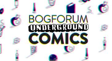 Tegneserier på Bogforum – det fulde program