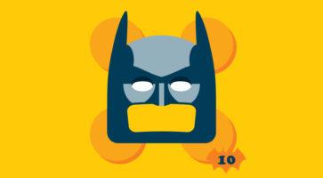 Batman går til filmen! BAT-JULEKALENDEREN del 10