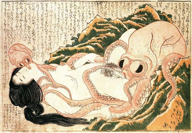 Hokusais værk blev så berømt, at selv Picasso malede sin egen version af det i 1903