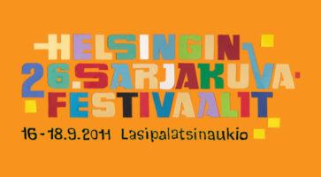 26. tegneseriefestival i Helsinki til september