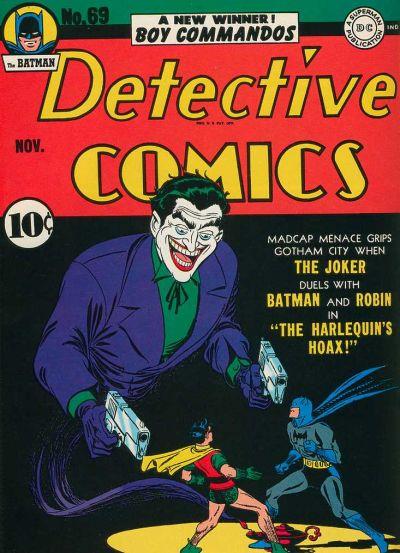 Robinsons berømte forside til Detective Comics #69