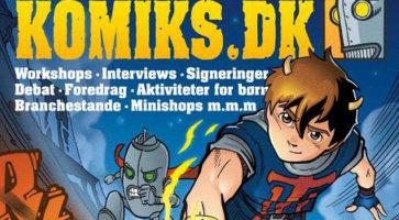 Komiks.dk 2013 fastlagt