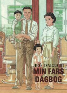 """Omslag til """"Min fars dagbog"""" af Jiro Taniguchi"""