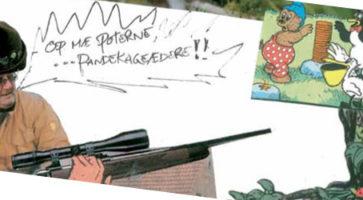 Corny collage (borgerskabet får en på koteletten!)