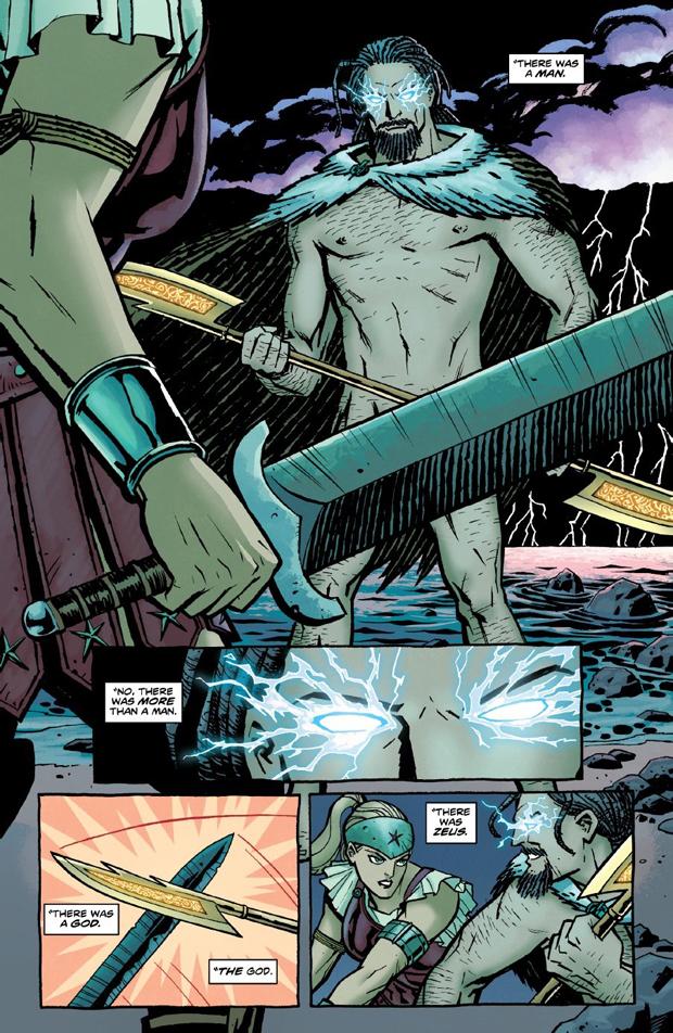 """En """"Wonder Woman""""-side tegnet af Cliff Chiang"""