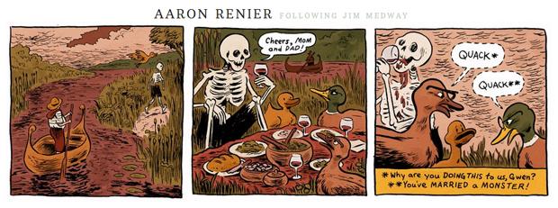 "Aaron Renier-bidrag til ""The Infinite Corpse"""
