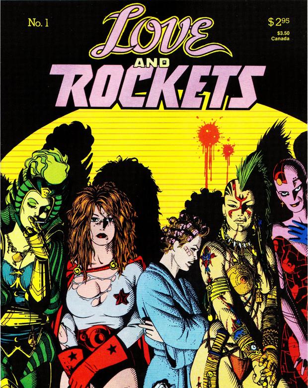 """""""Love & Rockets"""" 1 - nu på Fantagraphics"""