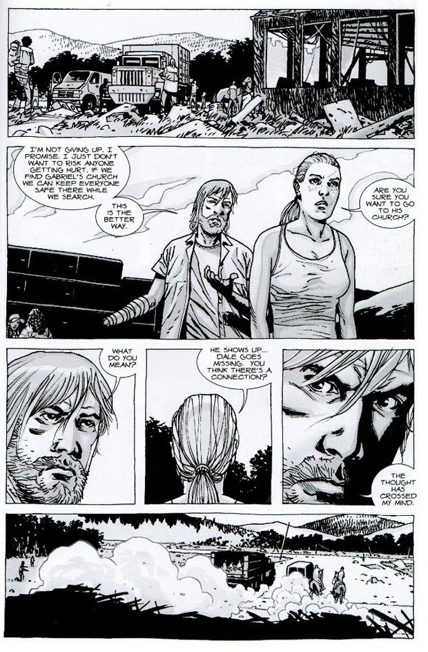 """Side fra """"Walking Dead"""""""