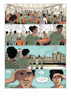 """En eksplosion i det fjerne - """"Attentatet"""" side 4"""