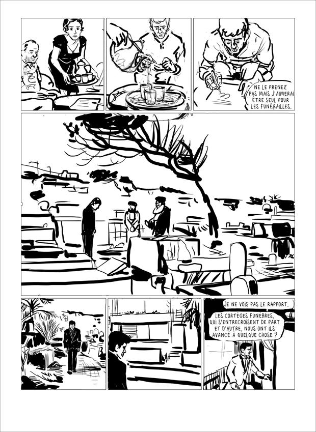"""Attentatet"" side 33 - skitset"