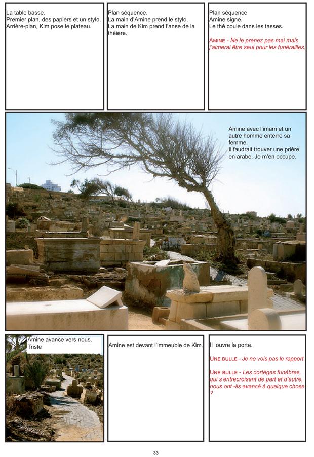 """""""Attentatet"""" side 33 - manuskriptet"""