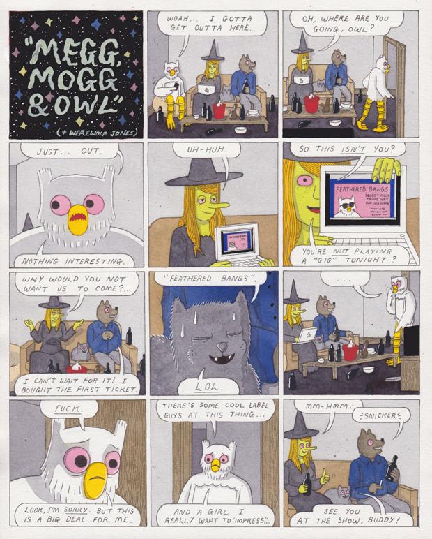 En Megg & Mogg-side fra det kommende Pitchfork-magasin