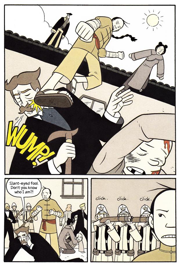 """Klodset kampscene fra """"Boxers"""""""