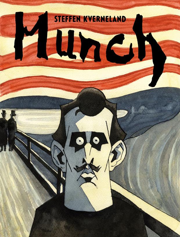 """Omslaget til """"Munch"""""""