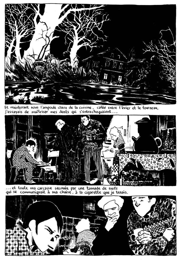 """Færdig udgave af side 30 i """"L'Astragale"""""""