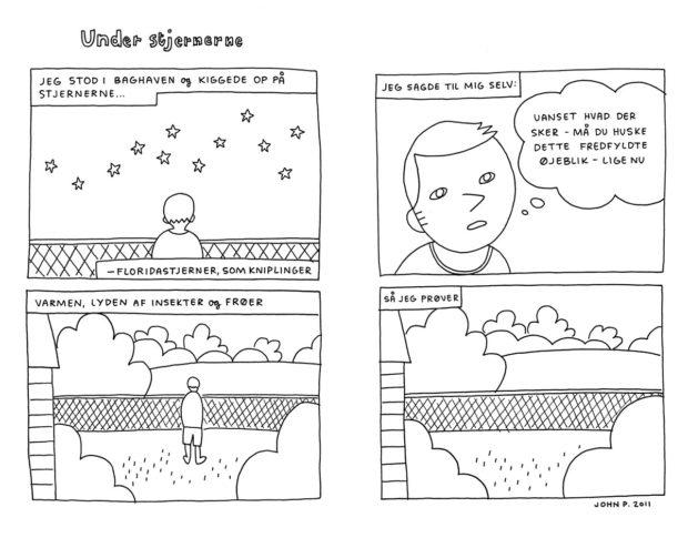 """""""Under stjernerne"""" af John Porcellino"""