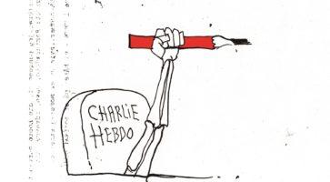 Danske tegnere støtter Charlie Hebdo IV