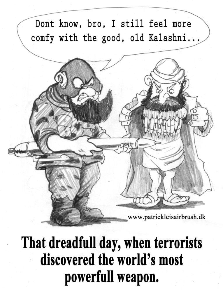 terrorist - Patrick Leis