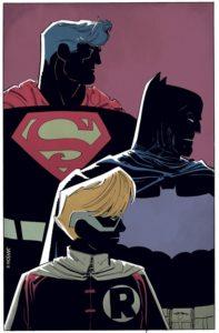 The Dark Knight i Klaus Jansons streg.