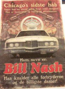 Bill Nash plakat