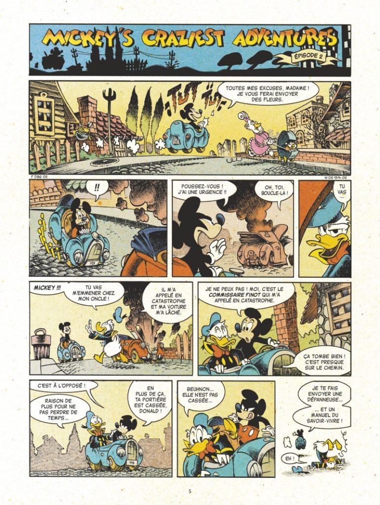 Mickey Mouse af Lewis Trondheim and Nicolas Keramidas3