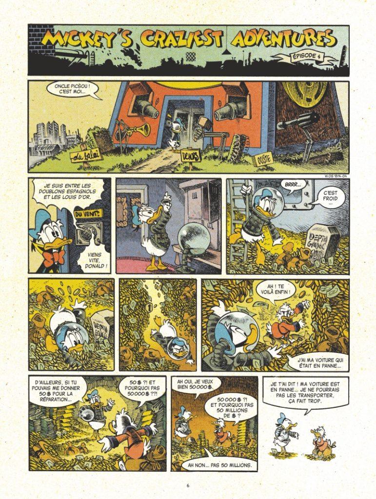 Mickey Mouse af Lewis Trondheim and Nicolas Keramidas