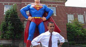 Obama ♥ tegneserier