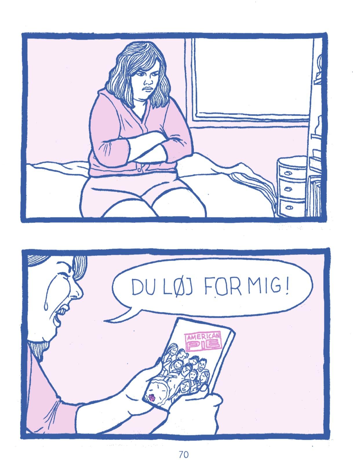 Fremmer pornografisk tegneserie