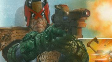 Lucha Comico: Judge Dredd