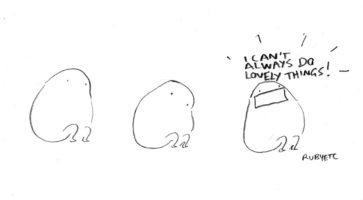 """Femi-nichen: """"Livet er besværligt, så i stedet har jeg tegnet det"""""""