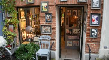 Den lille butik i Jægersborggade