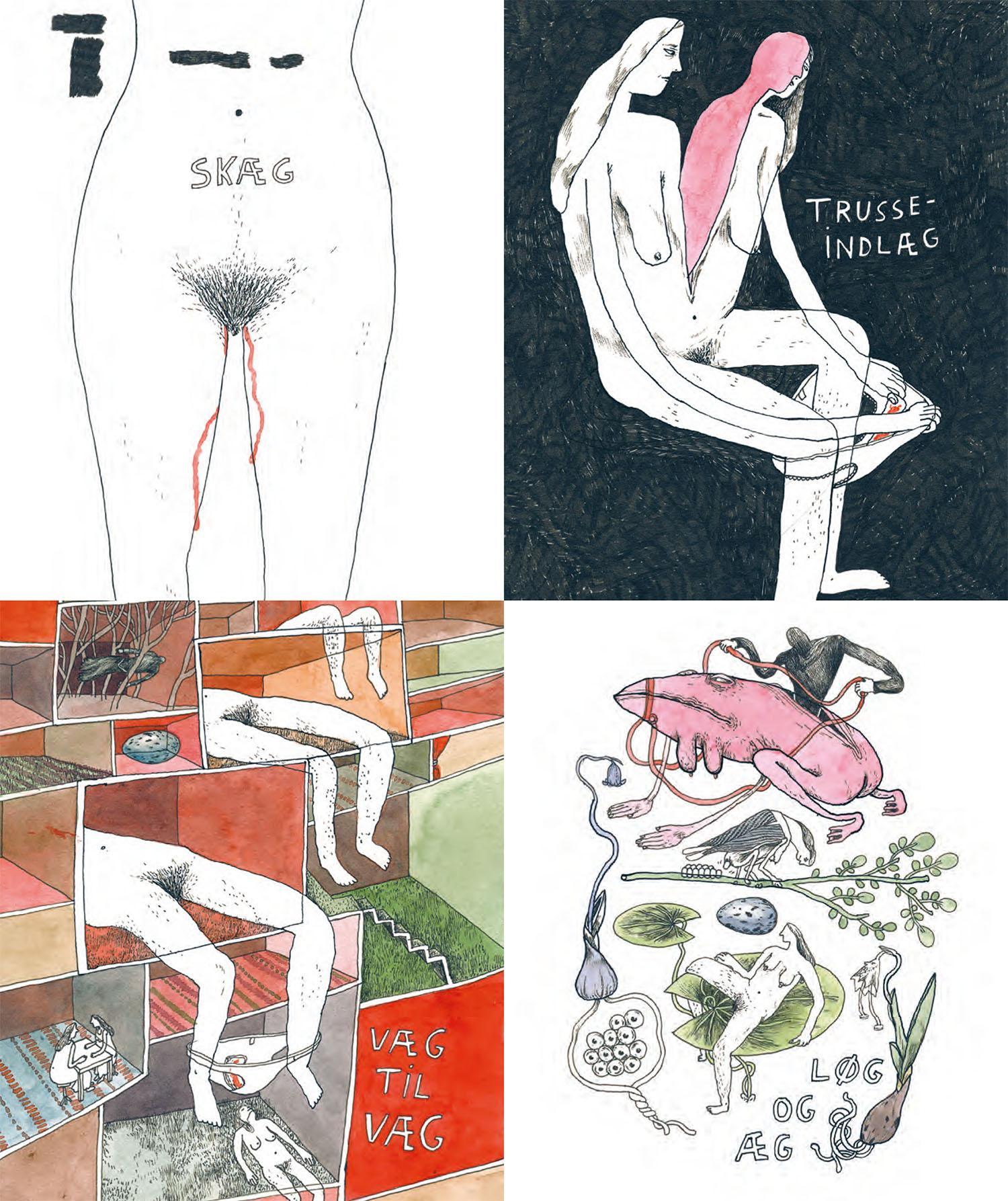 Tegneserier viser sex