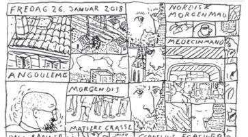 Tegneseriedagbog: Bue Bredsdorff på Angoulême