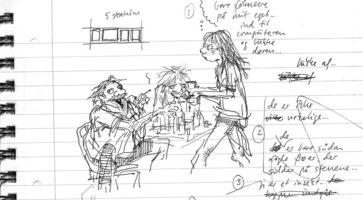 Information lancerer tegneserie-mesterklasse