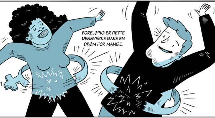 tegneserier med hårdt køn