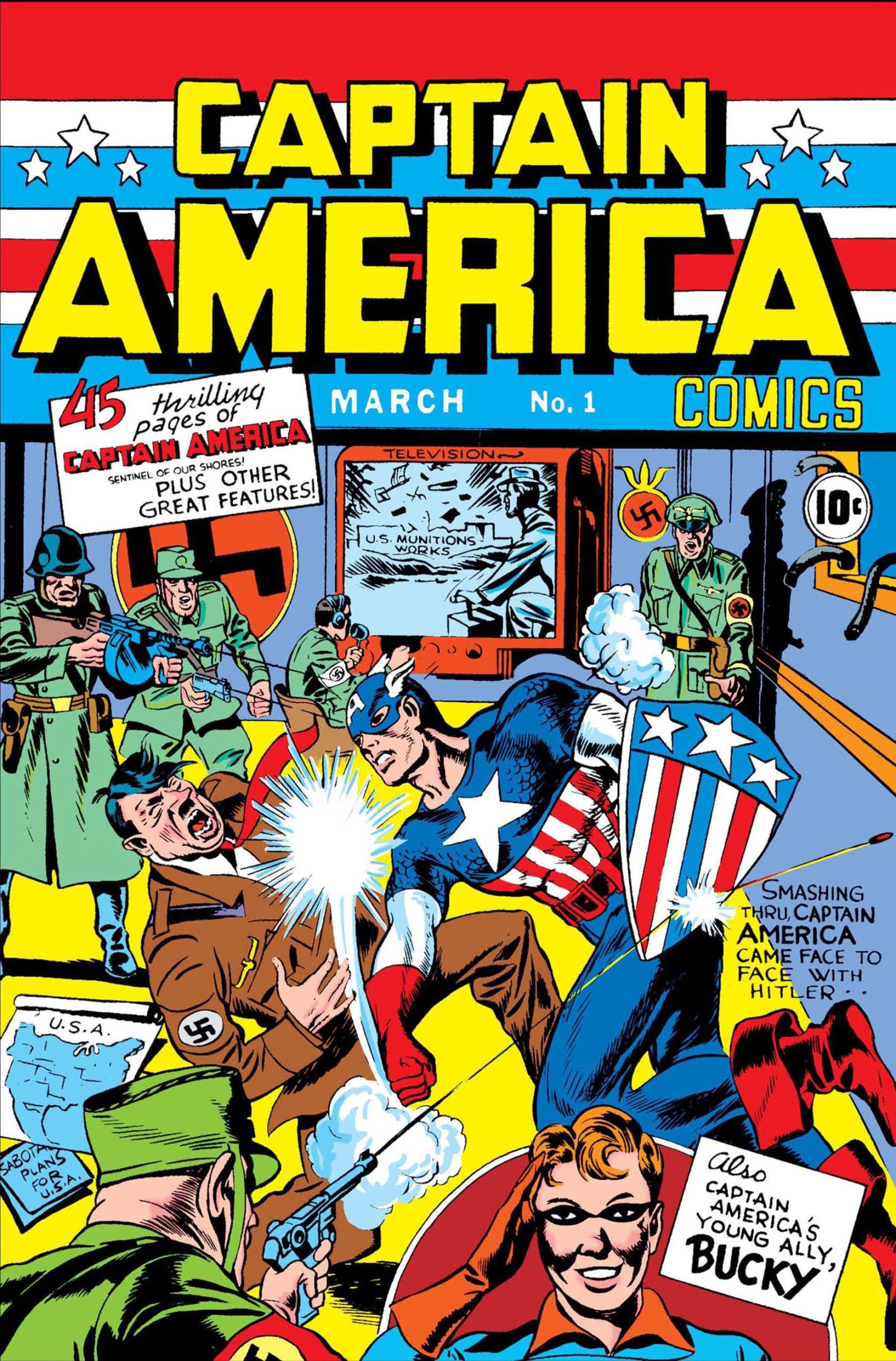 Captain America nr 1