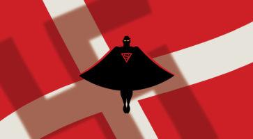 Det gode overmenneske, eller da Superman(d) kom til Danmark