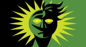 Grønne Lygte er en genial science fiction-idé